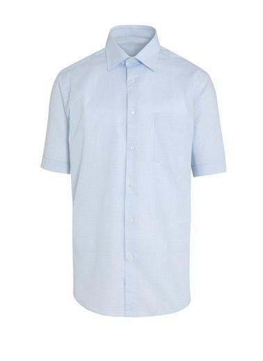 Hatemoğlu Klasik Gömlek Mavi